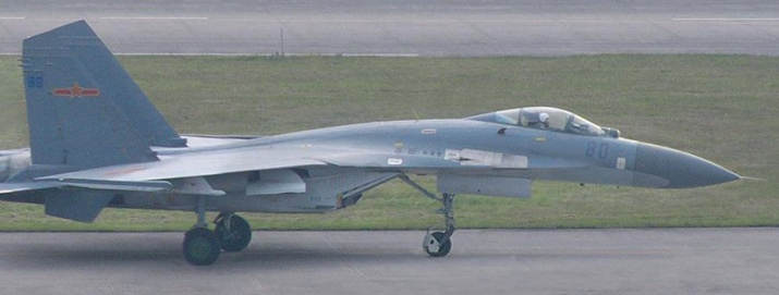 An example of SAC-built J-11 in service with the PLAAF