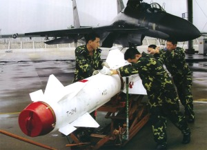 Kh-29T missile operated by the PLAAF