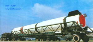 DF-4 was China's first-two stage rocket