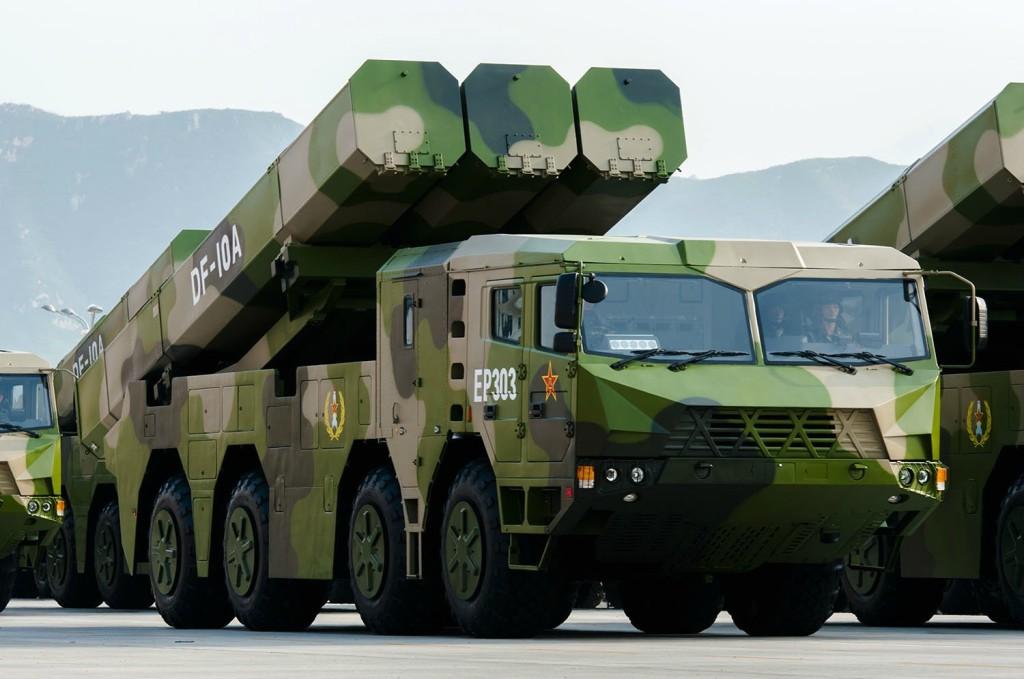 DF-10A LACM mobile launcher