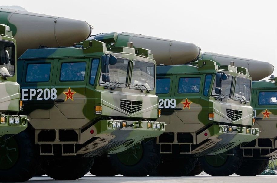 DF missile 2015 parade