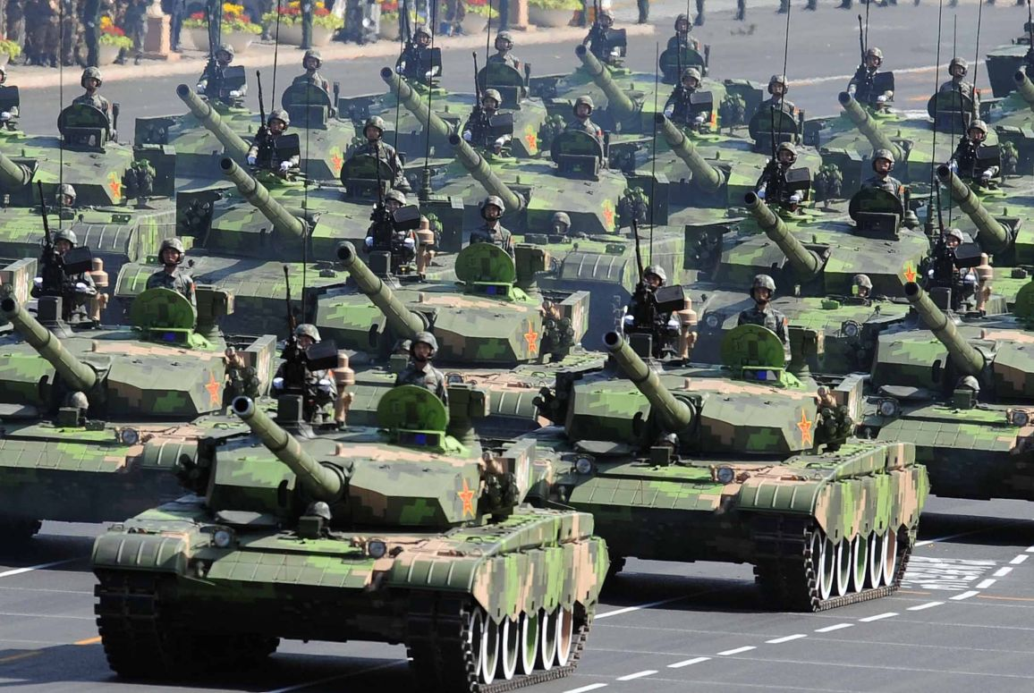 type-99-in-parade