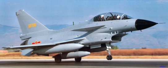 Chengdu J-10S fighter-trainer