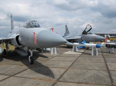 PAF JF-17 Thunder on static display