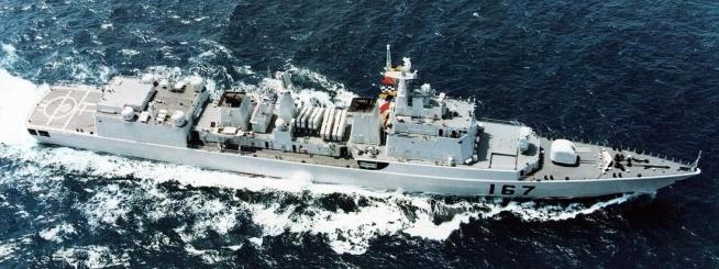 Type 051B Luhai DDG-167 Shenzhen 2