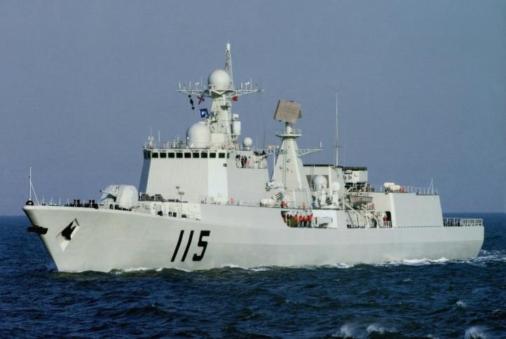 Type 051C Luzhou DDG-115 Shenyang