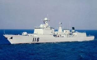 Type 051C Luzhou DDG-116 Shijiazhuang