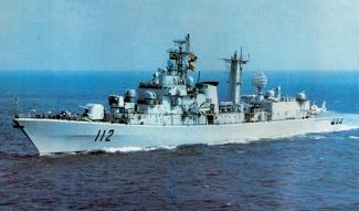 Type 052 Luhu DDG-112 Harbin old 2