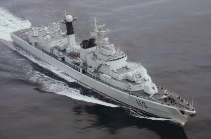 Type 052 Luhu DDG-113 Qingdao modernisation