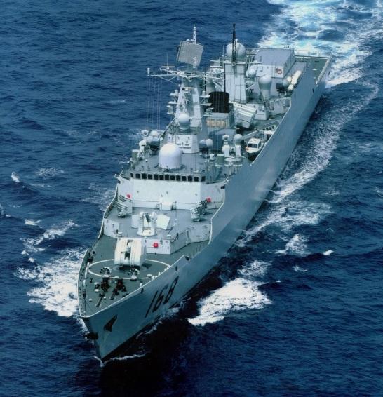 Type 052B DDG-168 Guangzhou 2