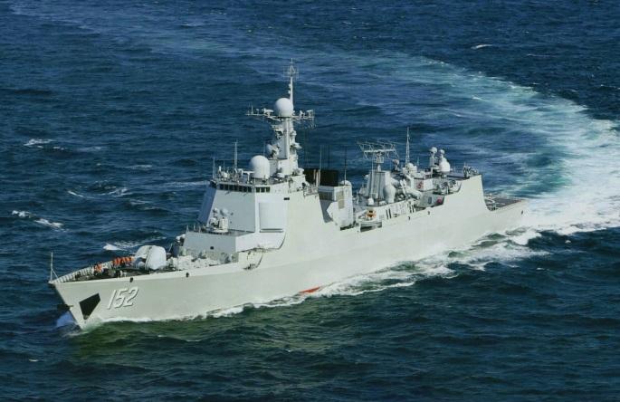 Type 052C Luyang-II DDG 152 Jinan 2