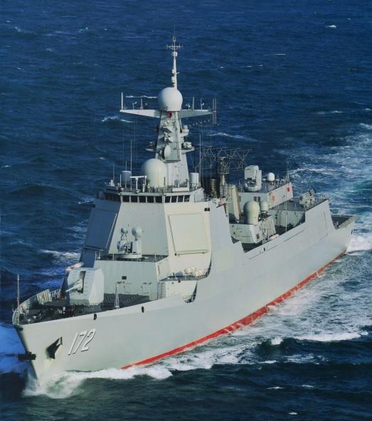 Type 052D Luyang-III DDG-172 Kunming 2