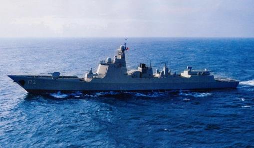 Type 052D Luyang-III DDG-173 Changsha 2