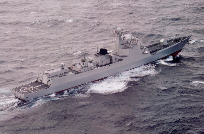 Type 052D Luyang-III DDG-173 Changsha
