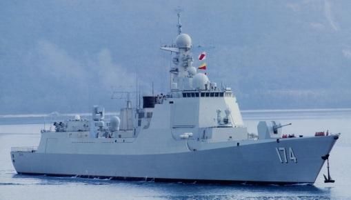 Type 052D Luyang-III DDG 174 Hefei