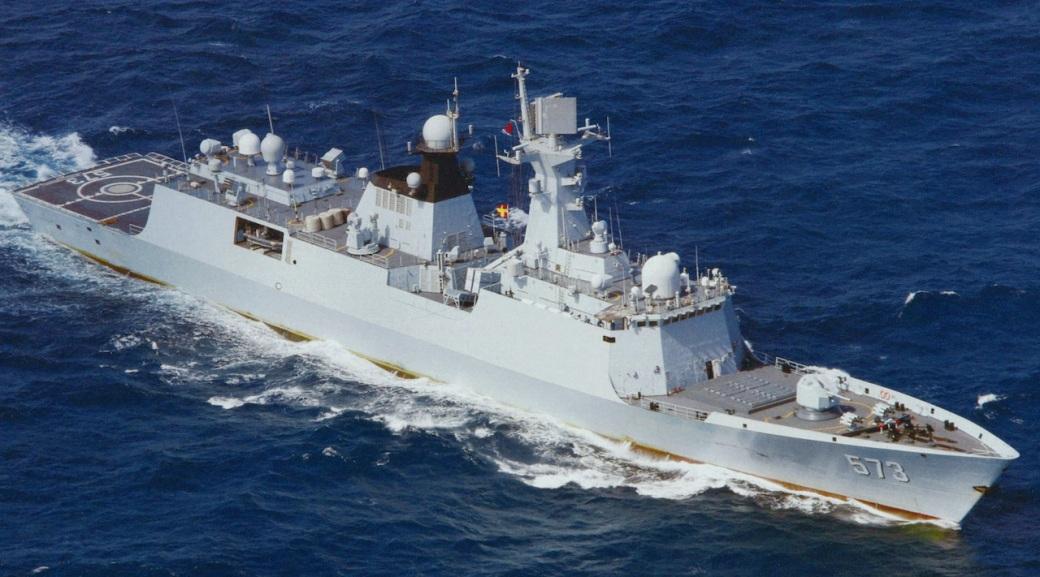 Type 054A Jiangkai-II FFG-573 Liuzhou