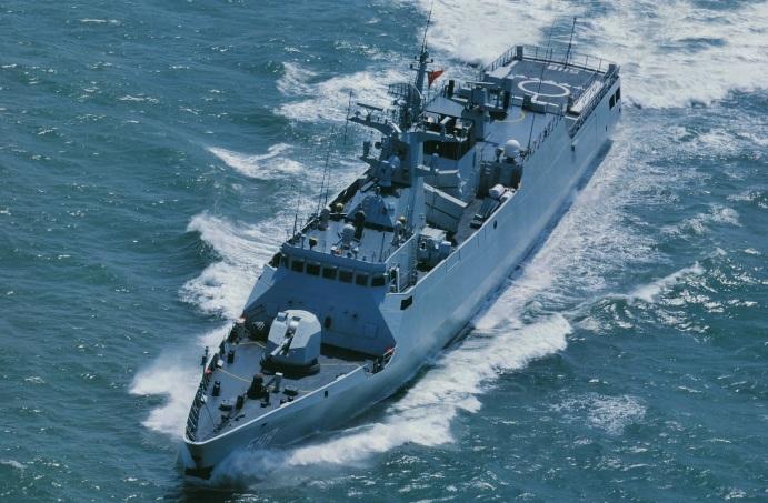 Type 056 Jiangdao FFL-588 Quanzhou