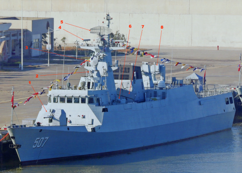 Type 056 Jiangdao systems 2