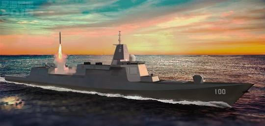 Type 055 DDG concept